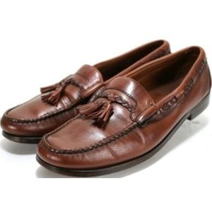 Allen Edmonds Men's Tassel Loafers Size 13 Brown